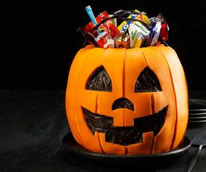 cake, candy, and Halloween image