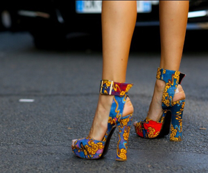 fashion, fashion week, and shoes image