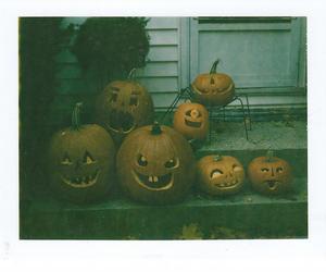 Halloween, pumpkin, and vintage image
