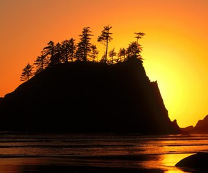 la push and sunset image