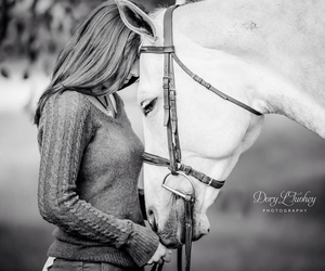 beautiful, friendship, and horse image