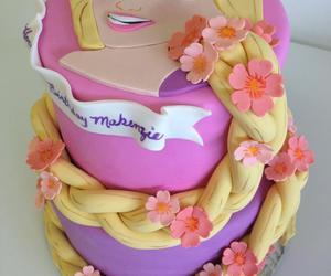 cake and rapunzel image