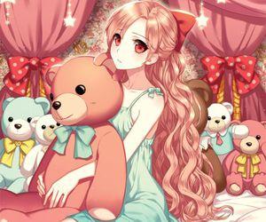 art, rin, and anime.anime girl image