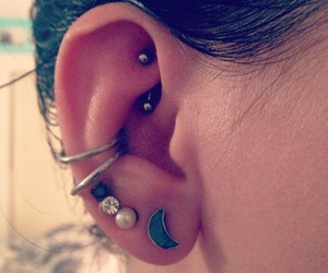 conch, ear, and hoop image
