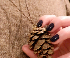 autumn necklace diy image