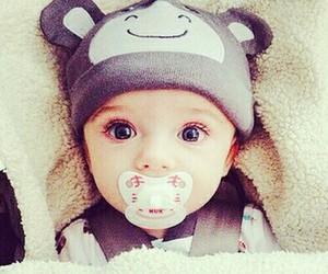 eyes, baby, and sweet image
