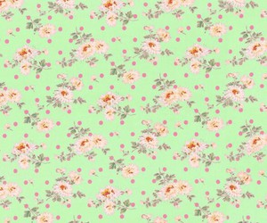 background, girly, and polka dots image
