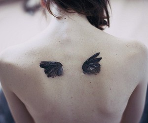 angel, dark, and Devil image