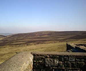 bronte, moors, and ruins image