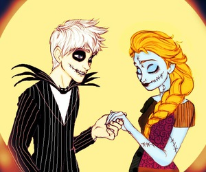 jack frost, disney, and elsa image