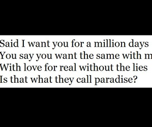 paradise, quote, and love image