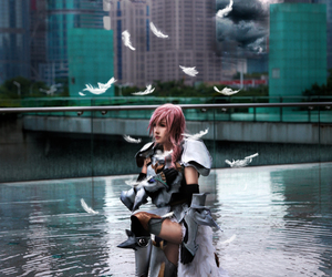 cosplay, final fantasy, and final fantasy xiii image