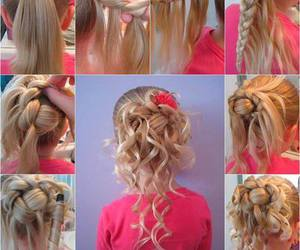 child, diy, and hair image