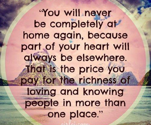 quotes, travel, and home image