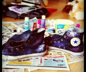 awesome, converse, and diy image