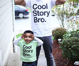 cool story bro, matching shirts, and cute image