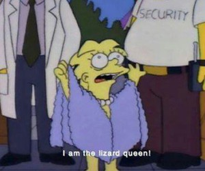 Queen, simpsons, and the simpsons image