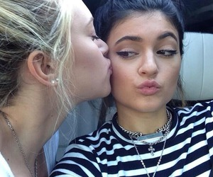 kylie jenner, kiss, and friends image