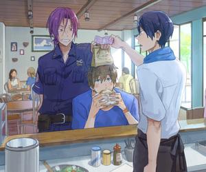 anime, makoto tachibana, and free image