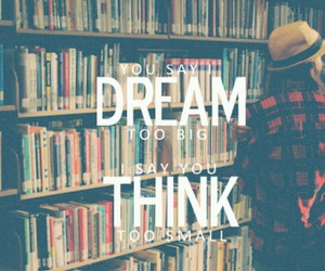 books, Dream, and girl image