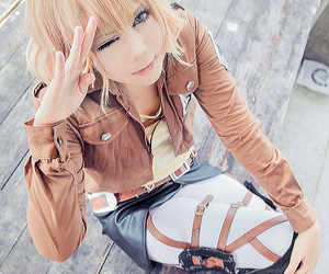 cosplay, snk, and attack on titan image