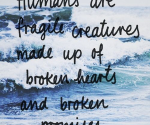 quote, broken, and text image