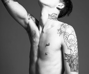 Ash Stymest, guy, and smoking image