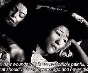 grey's anatomy, quote, and pain image