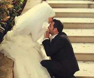 wedding, islam, and muslim image