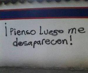 mexico, arte urbano, and protesta image