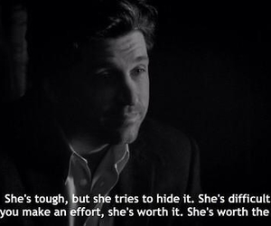 quotes, grey's anatomy, and worth it image