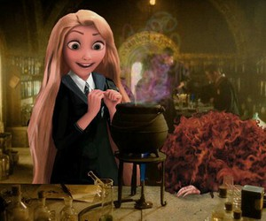 tangled, rapunzel, and brave image