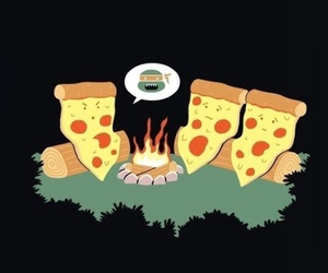 pizza and funny image