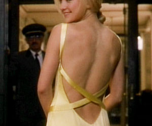 dress, kate hudson, and yellow image