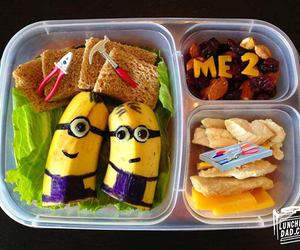 food, minions, and despicable me image