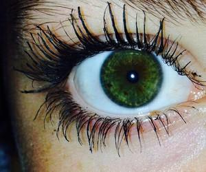 eyes, green, and green eyes image