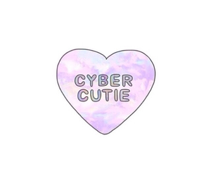 cyber, tumblr, and heart image