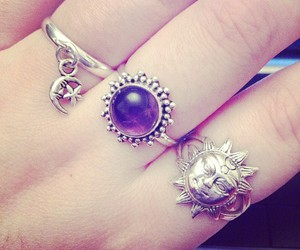 accessories, silver, and jewelry image