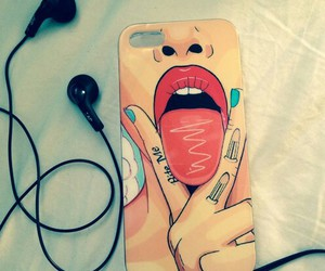 case, girl, and iphone case image
