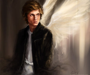 angel, jace, and the mortal instruments image