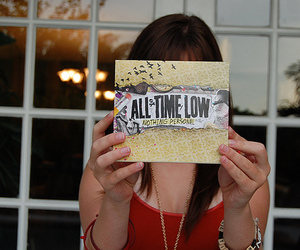 all time low, girl, and nothing personal image