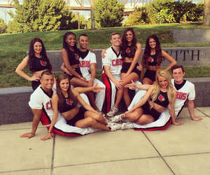 cards, cheer, and college image