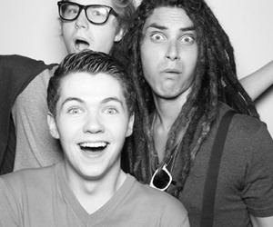 damian mcginty, the glee project, and samuel larsen image