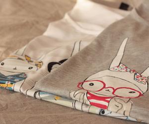 fashion, shirt, and bunny image