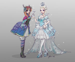 animated, frozen, and art image