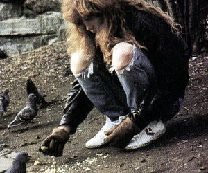 megadeth, dave mustaine, and pigeon image