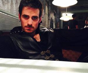 once upon a time, captain hook, and robbie kay image