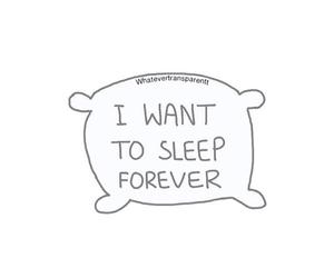 overlay, sleep, and forever image