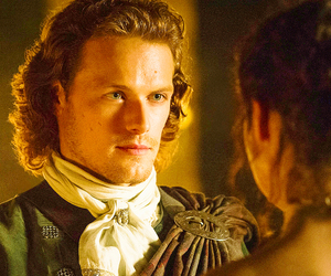 outlander, starz, and sam heughan image