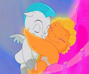 hercules, disney, and pegasus image